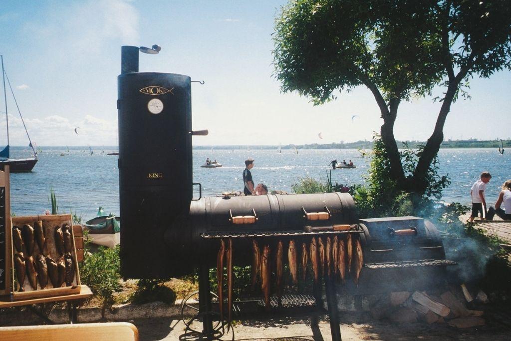 Smoker - grillo-wędzarnia
