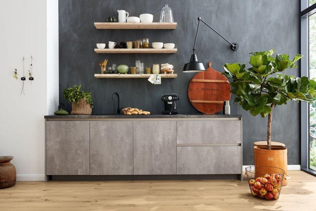 panele podłogowe wineo 1200 w kuchni