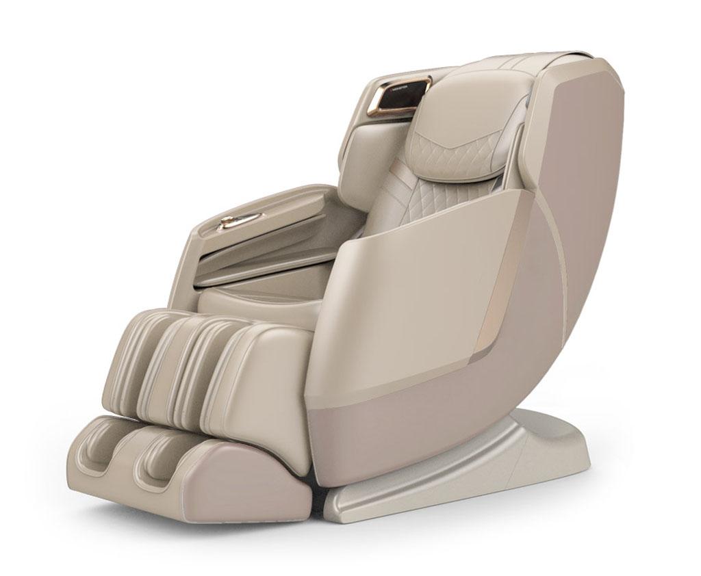 fotel masujący pro wellness pw530 w kolorze beżowym