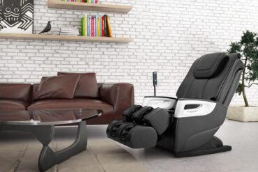 fotel masujący milan pro wellness w salonie