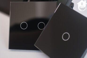 smart home szklane włączniki dotykowe