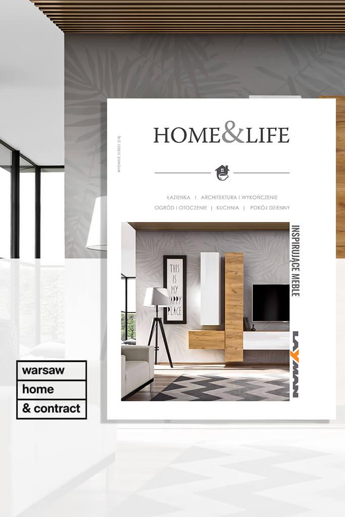 Homeandlife okłądka na warsawhome2021